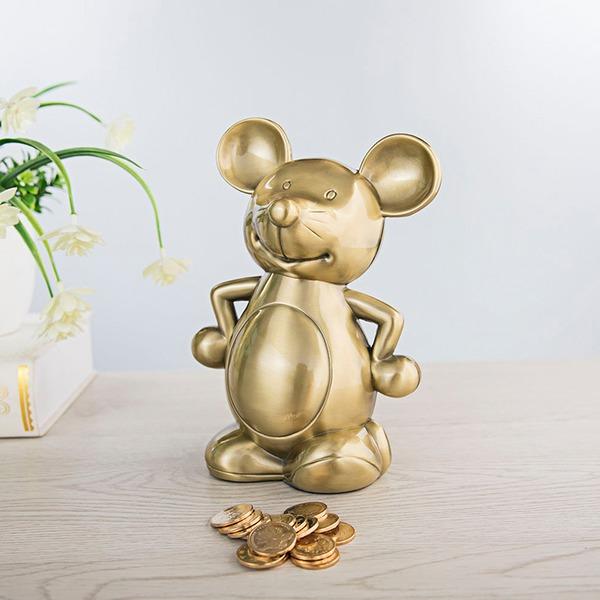 Cute Dieren/Klassiek Dier vormige Tin Legering Spaarvarken (Verkocht als single)