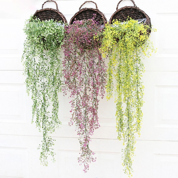 Flower Vine/Beautiful Attractive Plastic Artificial Flowers (Sold in a bunch)