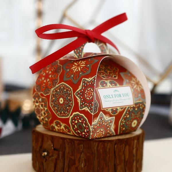 Forever Liebe Andere Karton Papier Geschenkboxen mit Bänder (Set aus 30)