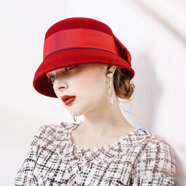 Damen Mode/Hübsche/Anhänger Wollen Schlapphut