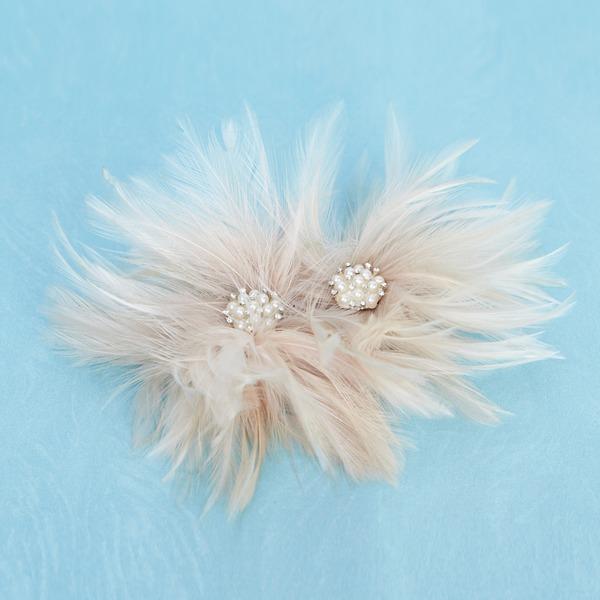 Krásný Feather Květiny