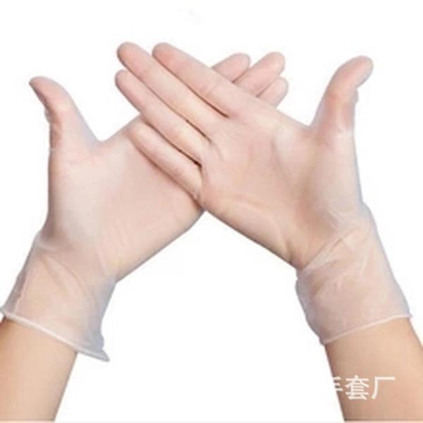 Engångs PVC Rengöringshandske