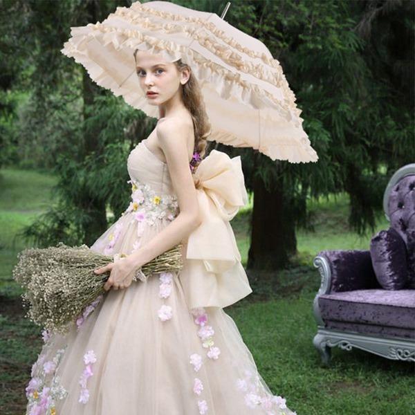 Nárazová tkanina Svatební Deštníky