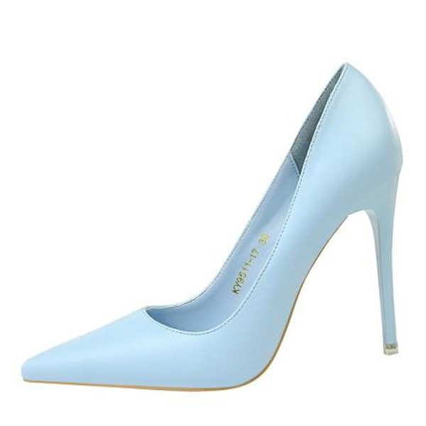 Женщины Лакированная кожа Высокий тонкий каблук На каблуках Закрытый мыс с Другие обувь