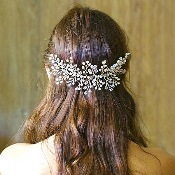 Damen Glamourös Legierung Kämme und Haarspangen mit Venezianischen Perle (In Einem Stück Verkauft)