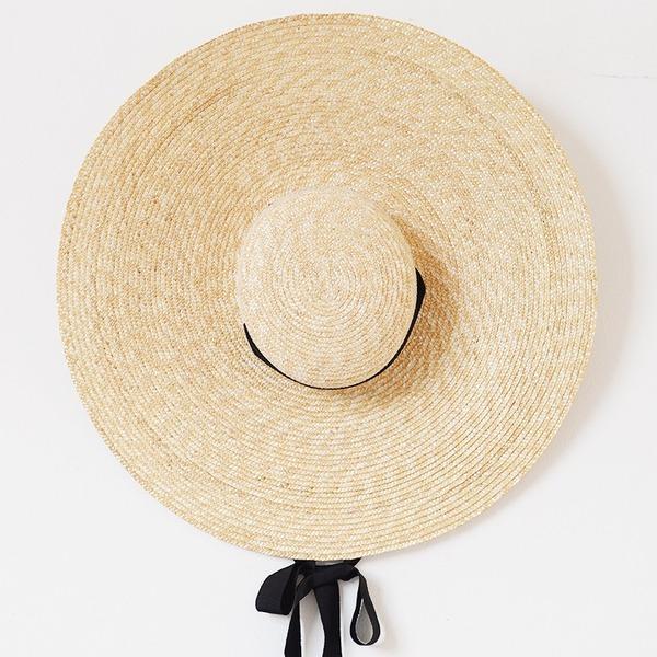 Dames Fait main /Le plus chaud Rotin paille Chapeau de paille/Kentucky Derby Des Chapeaux
