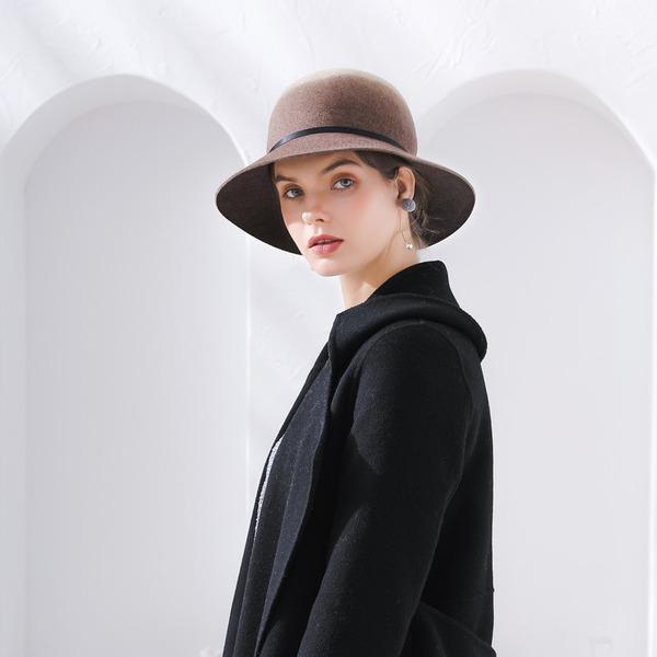 Ladies' Fashion/Glamourous/Pretty Wool Floppy Hat