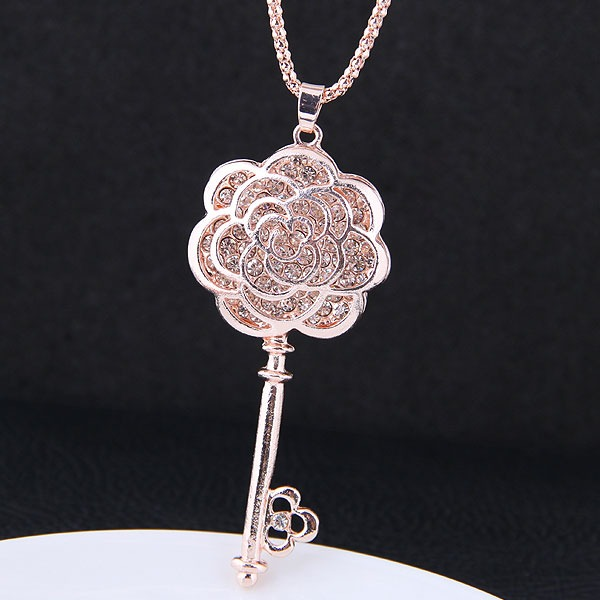 Мода сплав Стразы женские ожерелье