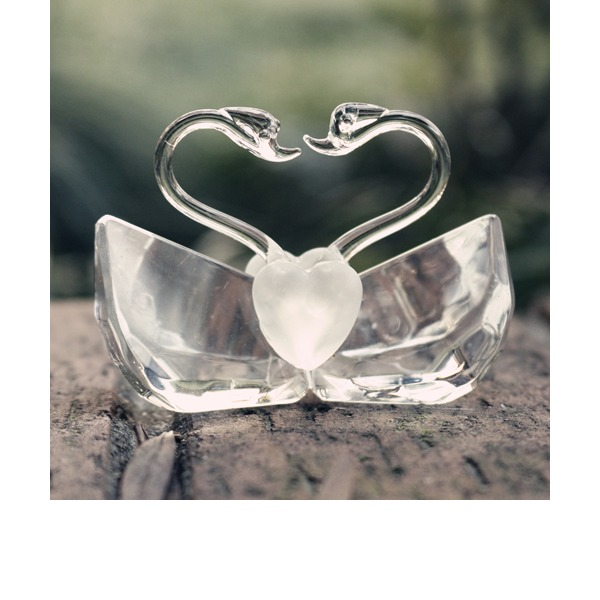 """Love Story""/Cute Animal Lovely Birds Crystal Creative Gifts With Ribbons (Sold in a single piece)"
