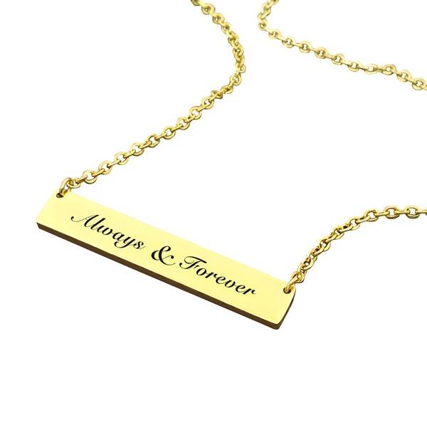 Unikátní Slitina Páry ' Módní náhrdelník