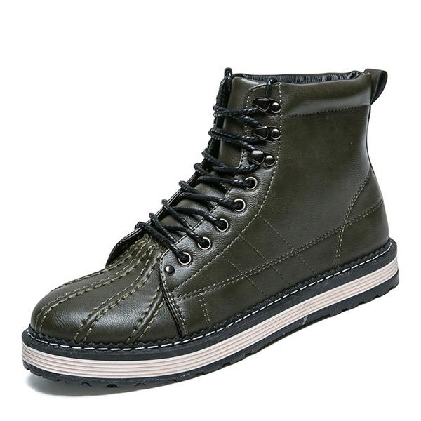 Men's Leatherette Chelsea Casual Men's Boots