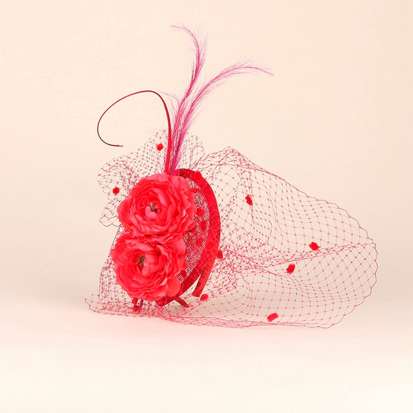 Ladies' Beautiful/Glamourous/Eye-catching/Romantic/Artistic Cambric Fascinators