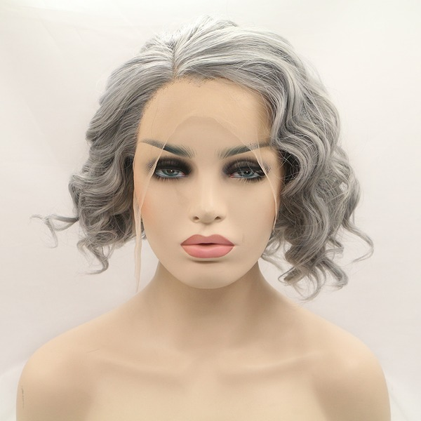 Wavy Synthetic Wigs Lace Front Wigs