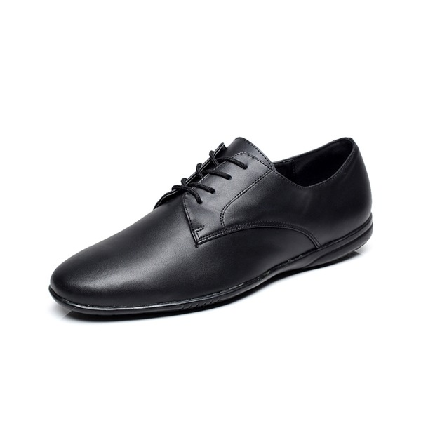 Мужская Натуральня кожа На плокой подошве Танцевальные кроссовки Практика Обувь для танцев