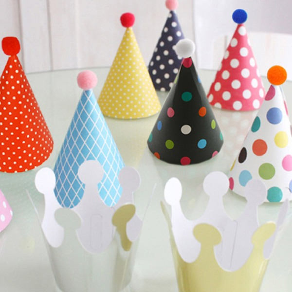 """""""Party Time"""" Karton Papier Tee Party Gast-Geschenke (Satz Von 11)"""