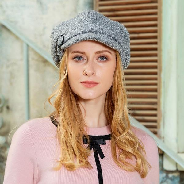 Bayanlar Şık/Basit/Fantezi Polyester Disket Şapka