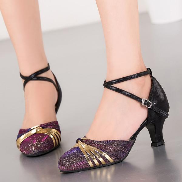 Femmes Pailletes scintillantes Salle de bal Chaussures de danse