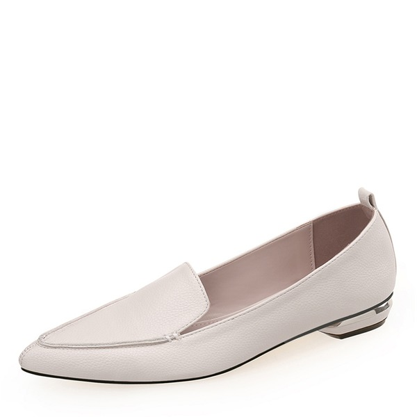 Mulheres PU Salto baixo Fechados sapatos