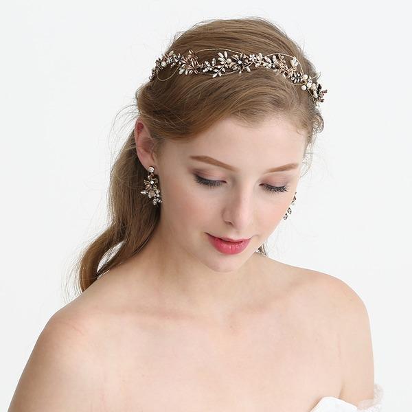 Filles Style Classique Strass/Alliage/De faux pearl Bandeaux avec Strass/Perle Vénitienne (Vendu dans une seule pièce)