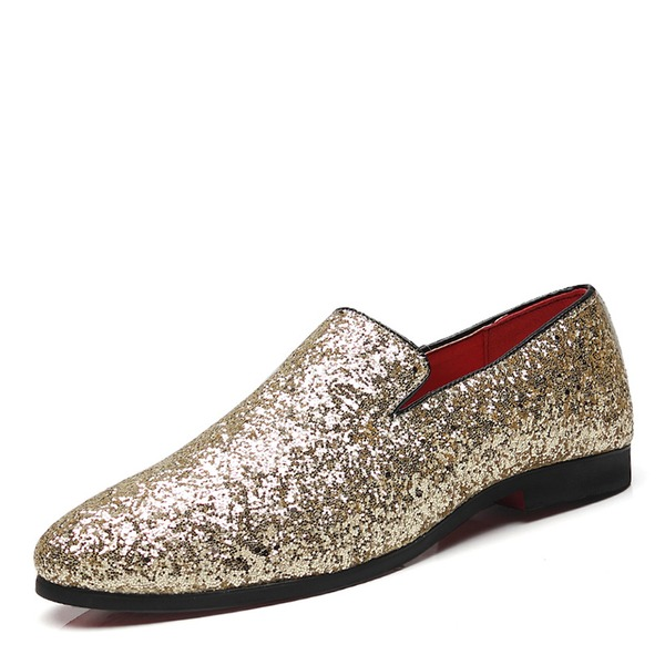 Men's Sparkling Glitter Casual Men's Loafers
