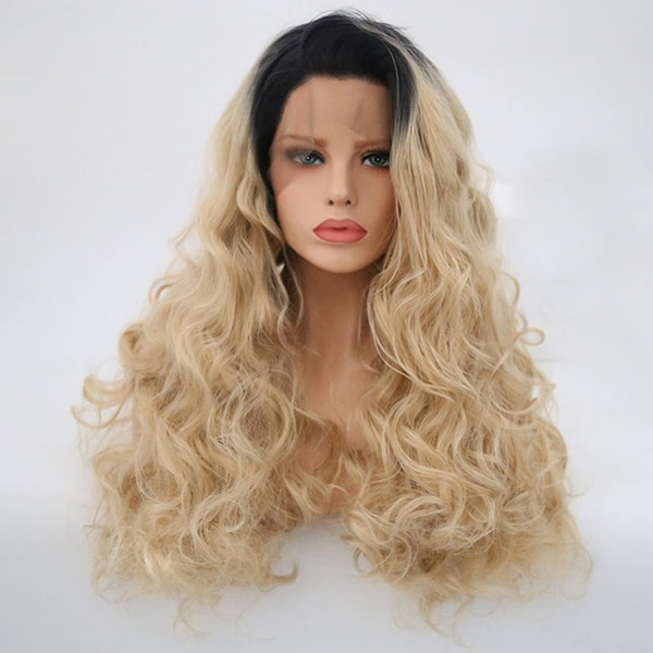 Loose Wavy Synthetic Hair Lace Front Wigs