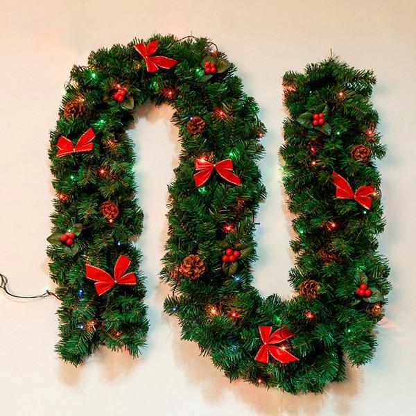 Floreale Natale Designo Plastica/Metallo