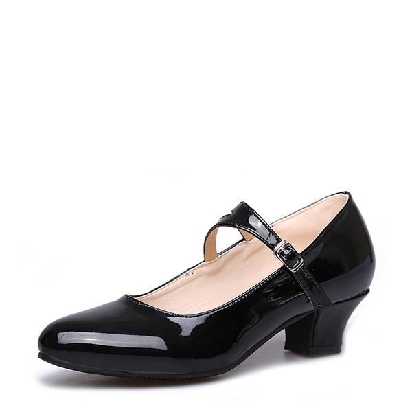 Dla kobiet Skóra ekologiczna Tenisówki buty do butów Z Klamra Buty do Tańca