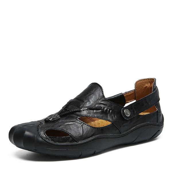 Erkek Gerçek Deri Gündelik Erkek Sandalet