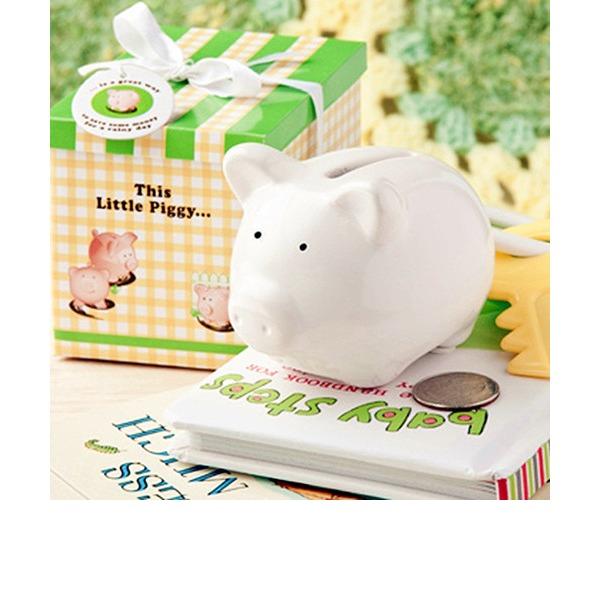 Ceramic Mini-Piggy Bank (Sold in a single piece)