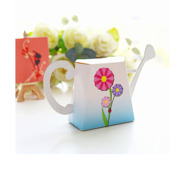 """""""Kärlek växer på""""/""""Fantasi tid"""" Blomma mallen Kort papper (Set om 12)"""