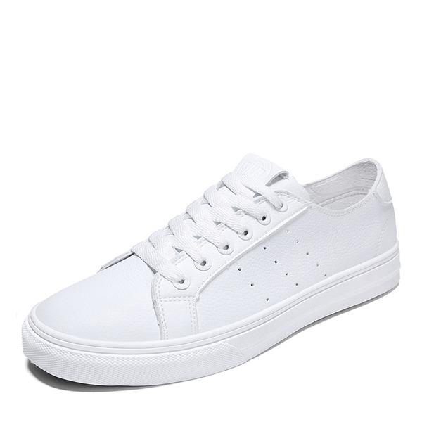 leer met Vastrijgen Sneakers & Sportschoenen