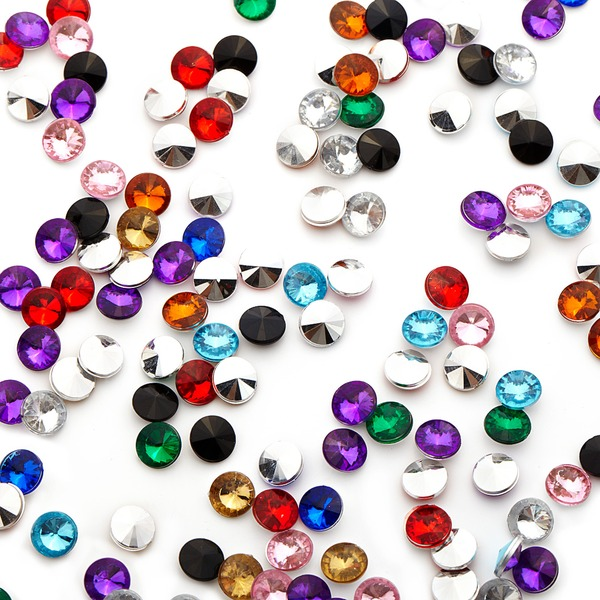 "1/4""(0.6cm) Pretty Diamond Pieces (bag of 1000)"