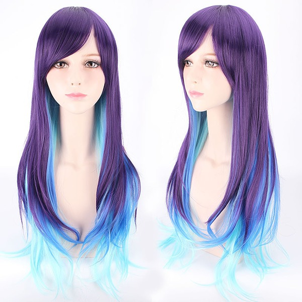 Body Wave Syntetiske Capless Parykker Cosplay / Trendy Parykker 280g