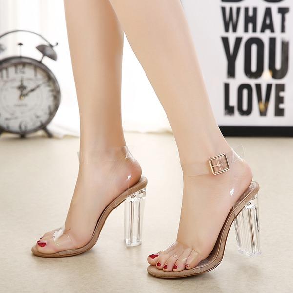 Vrouwen Stiletto Heel Sandalen Pumps Peep Toe met Juwelen Hak schoenen