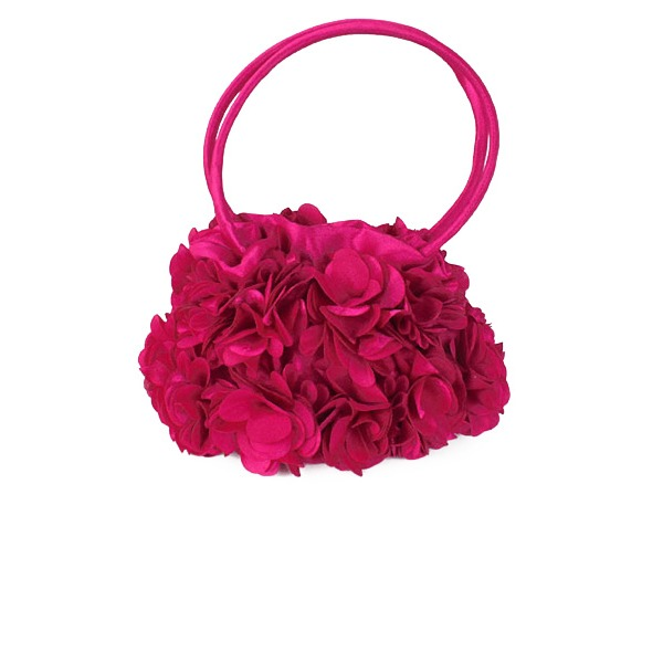 Fashionable Silk Clutches/Wristlets/Top Handle Bags/Bridal Purse/Evening Bags