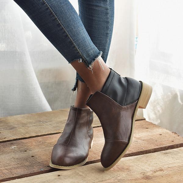 Naisten PU Chunky heel Kengät kengät