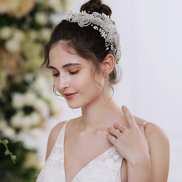 Dames Prachtige Strass Kammen & Haarspeldjes met Kristal