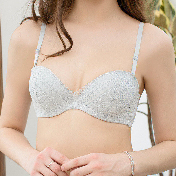 Simple Chinlon/Nylon Underwire Bra
