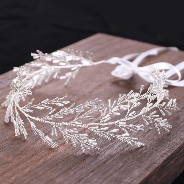 Señoras Sencillo Mariposa Rhinestone/Aleación/La perla de faux Diademas con Rhinestone/Perla Veneciano (Se venden en una sola pieza)