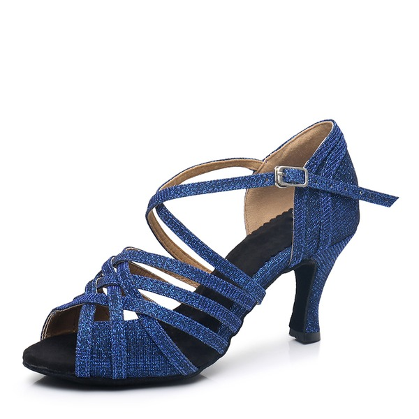 Donna Tacchi Latino Scarpe da ballo