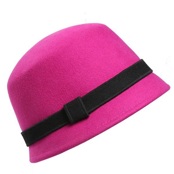 Ladies' Glamourous/Elegant/Simple Wool Floppy Hats