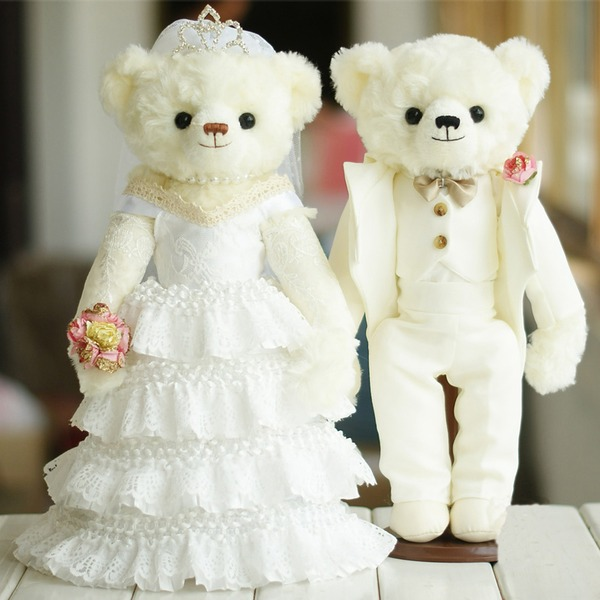 Toys Cute Tulle Plush Bear Non-personalized Gifts