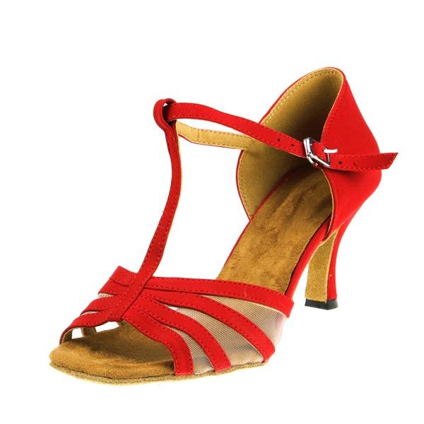 Mulheres Camurça Latino Sapatos de dança