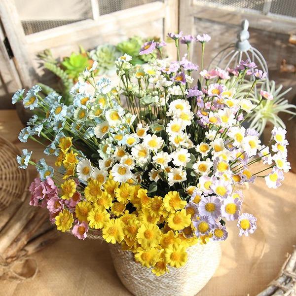 "Jednoduchý/Klasický ""Beautiful Flower"" Pěna/PE Umělé květiny (Sada 4)"