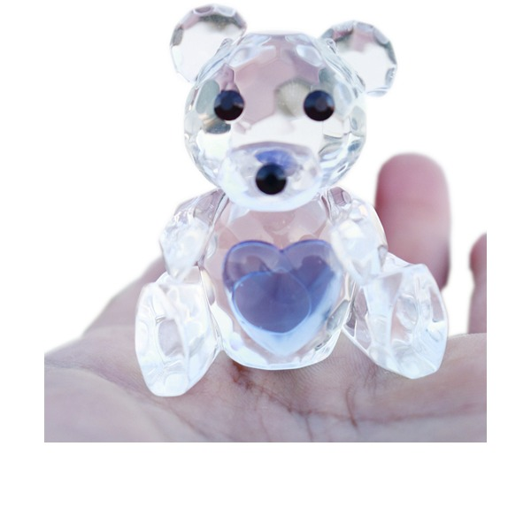 Precioso Crystal Regalos Creativos con Cintas (Sold in a single piece)