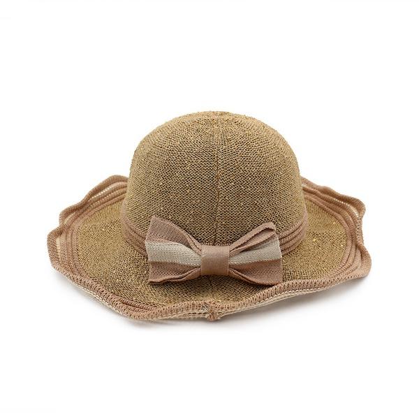 Ladies ' Speciální Bavlna/Bílá látka podobná bavlně Floppy klobouk