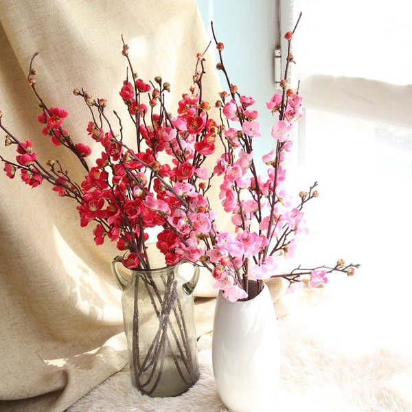 Vackra Och Siden blomma Konstgjorda Blommor (Säljs i ett enda stycke)