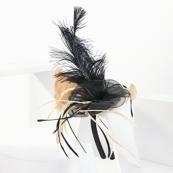 Ladies' Beautiful/Glamourous/Eye-catching/Romantic/Artistic Feather Fascinators