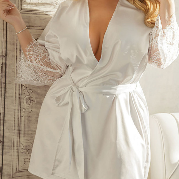 Classic Imitated Silk Sleepwear/Bridal Lingerie
