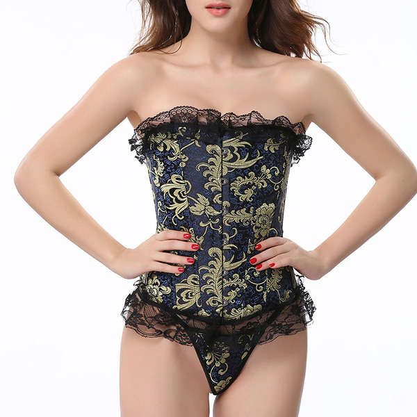 Dámské Ženské/Sexy/Elegantní Spandex Kombinéza Stahovací spodní prádlo